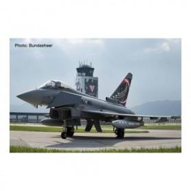 Herpa Wings 571210 Flyplan Austrian Air Force Eurofighter Typhoon -Überwachungsgeschwader, Zeltweg Air Base