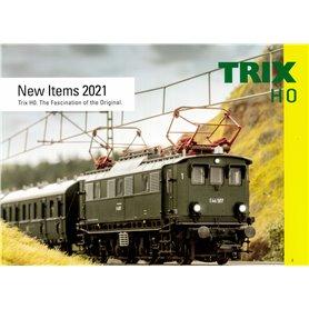 Trix 358272 Trix Nyhetskatalog 2021 Engelska