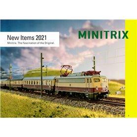 Trix 358276 Minitrix Nyhetskatalog 2021 Engelska