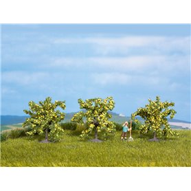 Noch 25115 Citronträd, 3 st, ca 40 mm höga