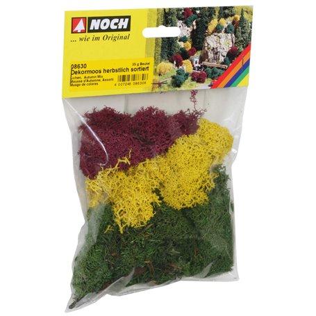 Noch 08630 Mossa, höstfärger, 35 gram, påse