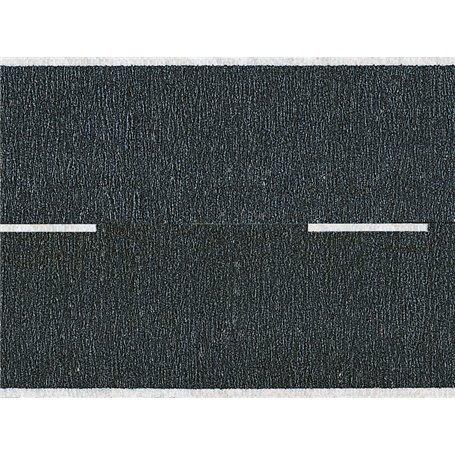 Noch 60410 Vägfolie, svart, 48 mm bred, 2 st rullar á 1 meter