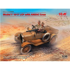 ICM 35668 Model T 1917 LCP with ANZAC Crew