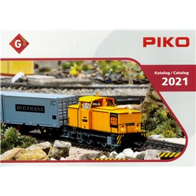 Media KAT529 Piko Katalog 2021 G-skalan