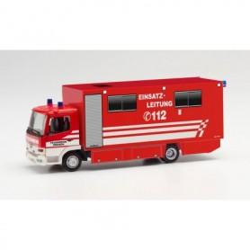 """Herpa 096010 Mercedes-Benz Atego box truck """"Feuerwehr Bremen Einsatzleitung"""""""