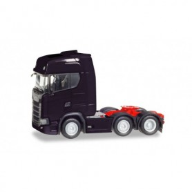 Herpa 307543-002 Scania CS 20 HD 6x2 rigid tractor, black