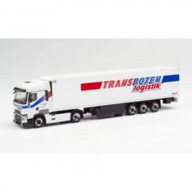"Herpa 312929 Renault T refrigerated box semitrailer ""Transbozen"" (Italien|Lajen)"