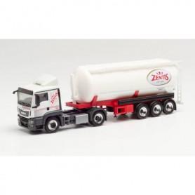 "Herpa 312936 MAN TGS LX bulk semitrailer ""Zentis"" (Nordrhein-Westfalen|Aachen)"