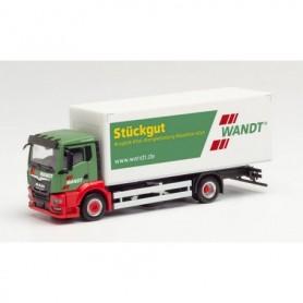 "Herpa 312943 MAN TGS NN curtainside truck ""Wandt"" (Niedersachsen|Braunschweig)"