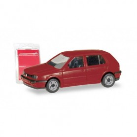 Herpa 012355-008 Herpa MiniKit. VW Golf III, wine red