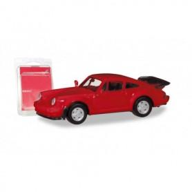 Herpa 013307-002 Herpa MiniKit. Porsche 911 Turbo, red