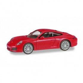 Herpa 028639-002 Porsche 911 Carrera 4S, indian red
