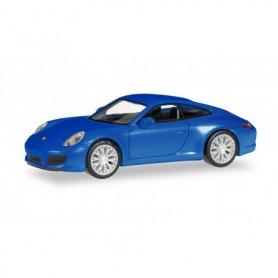 Herpa 038546-002 Porsche 911 Carrera 2 S Coupé, saphir blue metallic