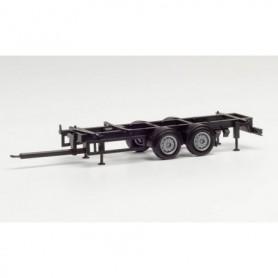 Herpa 085274 Part service chassis Tandem trailer für 7,82m Swap bodies