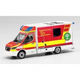 """Herpa 095921 Mercedes-Benz Sprinter 18 Fahrtec ambulance """"Feuerwehr Bocholt"""""""