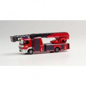 """Herpa 095938 Mercedes-Benz Atego 13 Rosenbauer turnable ladder """"Feuerwehr Aachen"""""""