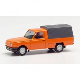 Herpa 420938 Wartburg 353 Trans 85 canvas cover, orange