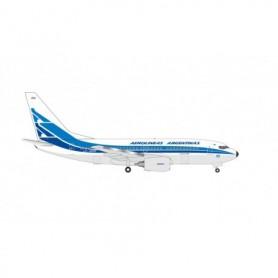 Herpa Wings 534932 Flygplan Aerolineas Argentinas Boeing 737-700 - 70th Anniversary Retro livery