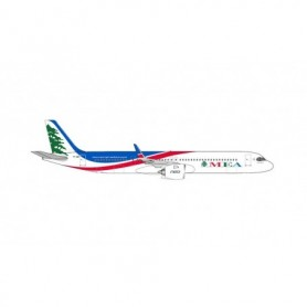 Herpa Wings 534949 Flygplan MEA - Middle East Airlines Airbus A321neo