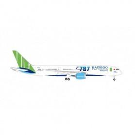 Herpa Wings 534994 Flygplan Bamboo Airways Boeing 787-9 Dreamliner, 'Ha Long Bay'
