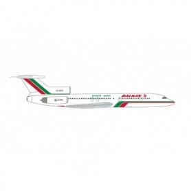 Herpa Wings 535106 Flygplan Balkan Bulgarian Airlines Tupolev TU-154M