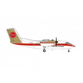 Herpa Wings 571180 Flygplan Continental Express De Havilland Canada DHC-7
