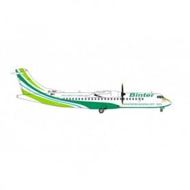 Herpa Wings 571241 Flygplan Binter Canarias ATR-72-600, 'Maspalomas Costa Canaria'