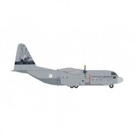 Herpa Wings 571296 Flygplan Royal Netherlands Air Force Lockheed C-130H Hercules - 336 Squadron '25 Years C-130 Hercules'