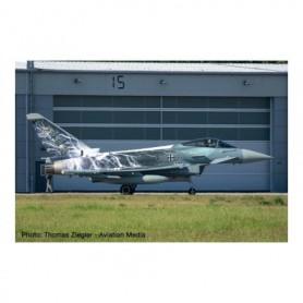 Herpa Wings 580663 Flygplan Luftwaffe Eurofighter Typhoon - TaktLwG 31 (Tactical Wing 31) , Nörvenich Air Base 'Sword of Boel...