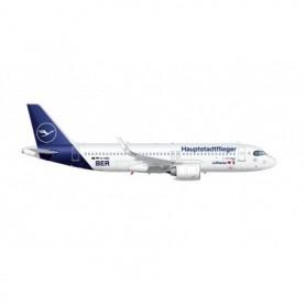 Herpa Wings 613156 Flygplan Lufthansa Airbus A320neo 'Hauptstadtflieger'