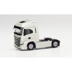 Herpa 313445 Iveco S-Way tractor, white