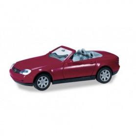 Herpa 012188-006 Herpa Minikit Mercedes-Benz SLK Roadster, burgundy violet