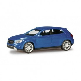 Herpa 038317-003 Mercedes-Benz GLA class, denimblue metallic