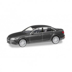Herpa 038560-002 Audi A4 ® Limousine, daytona gray metallic
