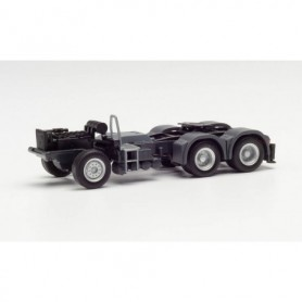 Herpa 085328 Parts service chassis MAN 6x4 with rear support and console for loading crane (2 pieces)