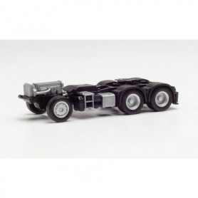 Herpa 085335 Parts service chassis Mercedes-Benz 6x4 with rear support and console for loading crane (2 pieces)