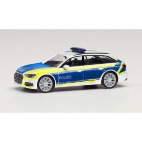 "Herpa 096058 Audi A6 Avant ""Police | Audi demonstration vehicle"""