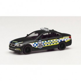 """Herpa 096089 BMW 5er Series sedan """"Victorian Highway Police"""", black"""