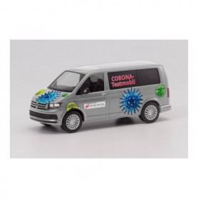 "Herpa 096133 VW T6 Bus ""Coronavirus testing vehicle"" (Bayern|Hof)"