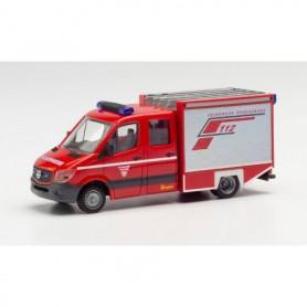 "Herpa 096164 Mercedes-Benz Sprinter`13 small alarm vehicle ""fire department Regensburg"""