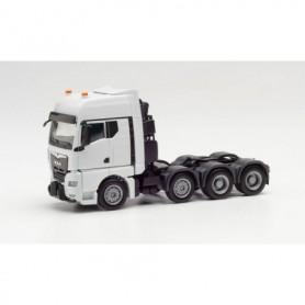 Herpa 313513 MAN TGX GX heavy duty tractor, white