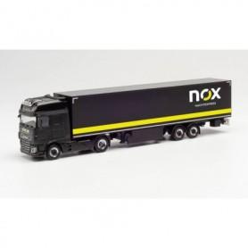 "Herpa 313339 DAF XF SSC curtainsider semitrailer ""Gaida Transporte | NOX' (Bayern|Schondra)"