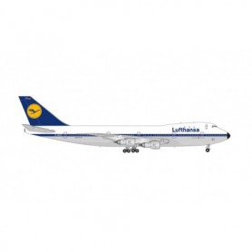 "Herpa Wings 571319 Flygplan Lufthansa Boeing 747-200 - 50th Anniversary of 747-200 introduction at Lufthansa – D-ABYD ""Baden-..."