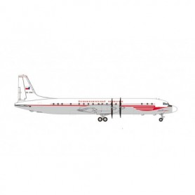Herpa Wings 571333 Flygplan CSA Czechoslovak Airlines Ilyushin IL-18 – OK-PAH