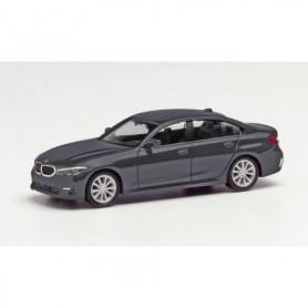 Herpa 430791-002 BMW 3er Limousine, mineral gray metallic