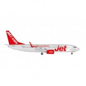 """Herpa Wings 535137 Flygplan Jet2 Boeing 737-800 – G-GDFP """"Jet2 Paris"""""""