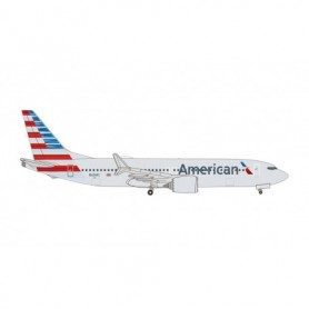 Herpa Wings 535199 Flygplan American Airlines Boeing 737 Max 8 – N306RC