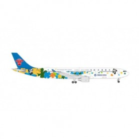 """Herpa Wings 535205 Flygplan China Southern Airlines Airbus A330-300 """"International Import Expo"""" – B-5940"""