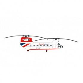 Herpa Wings 571418 Helikopter British Airways Helicopters Boeing 234 Chinook – G-BISP