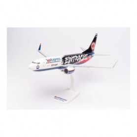 """Herpa Wings 613125 Flygplan Sun Express Boeing 737-800 """"Eintracht Frankfurt - SGE Express"""" – TC-SPC"""